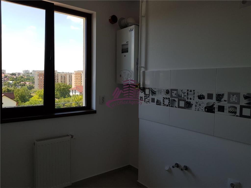 Apartament nemobilat de inchiriat, nou, la prima inchiriere