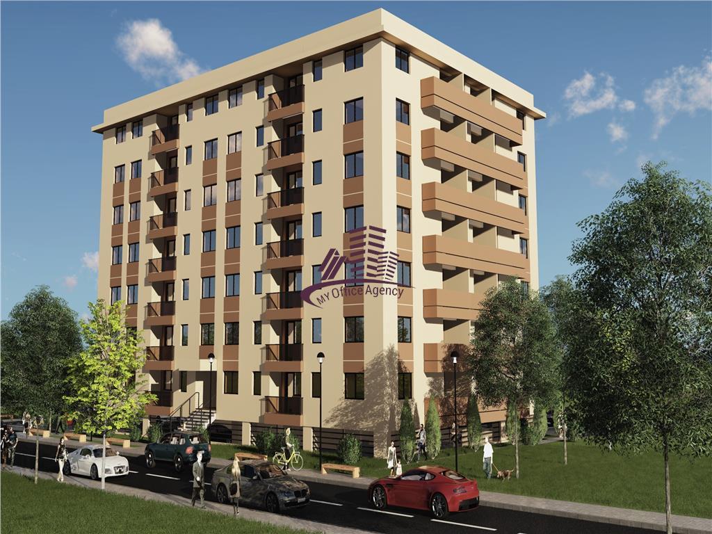 Apartament 3 camere proiect rezidential Copou