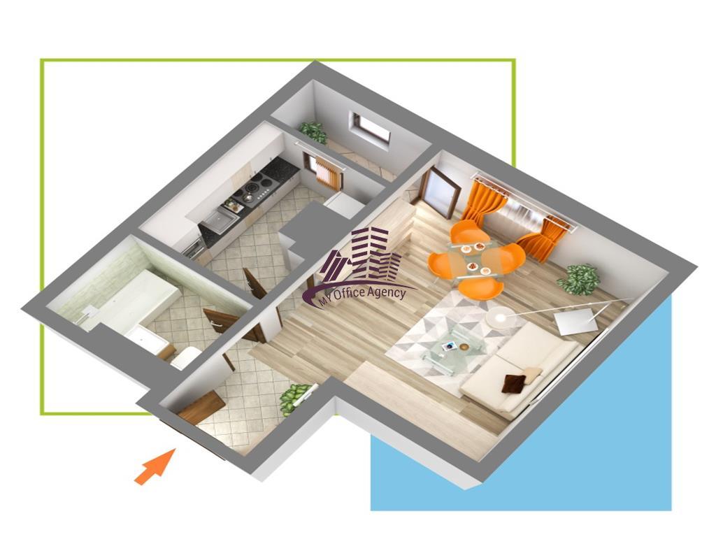 Nicolina Residence  Apartament o camera decomandat