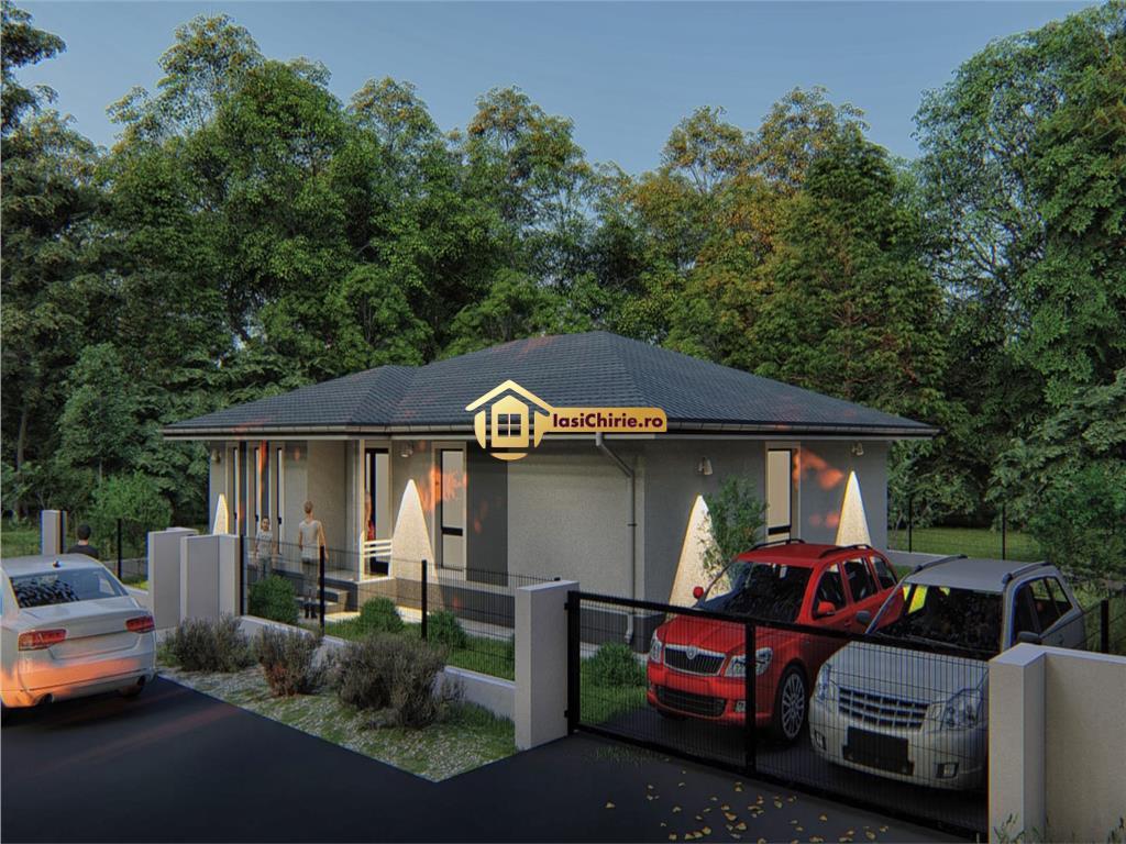 Casa individuala Miroslava cu 3 camere constructie 2018