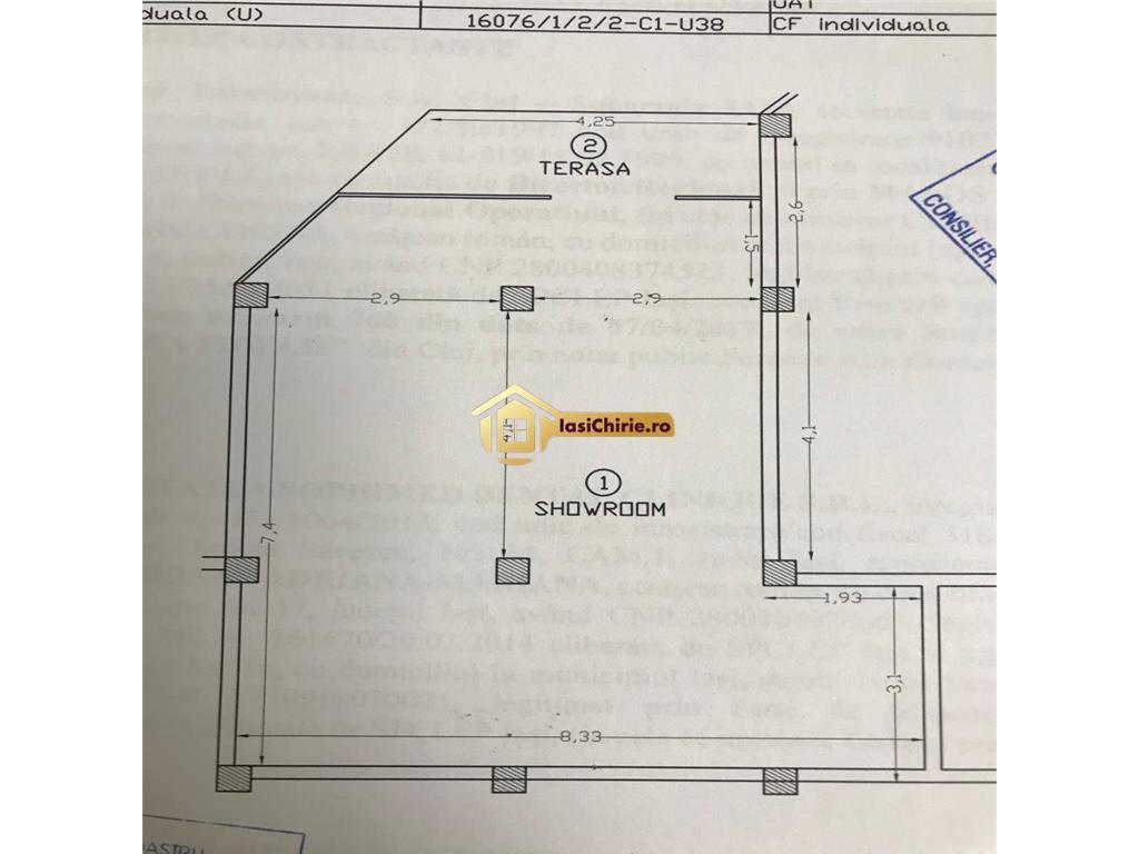 Spatiu comercial de vanzare Tatarasi 70 mp utili