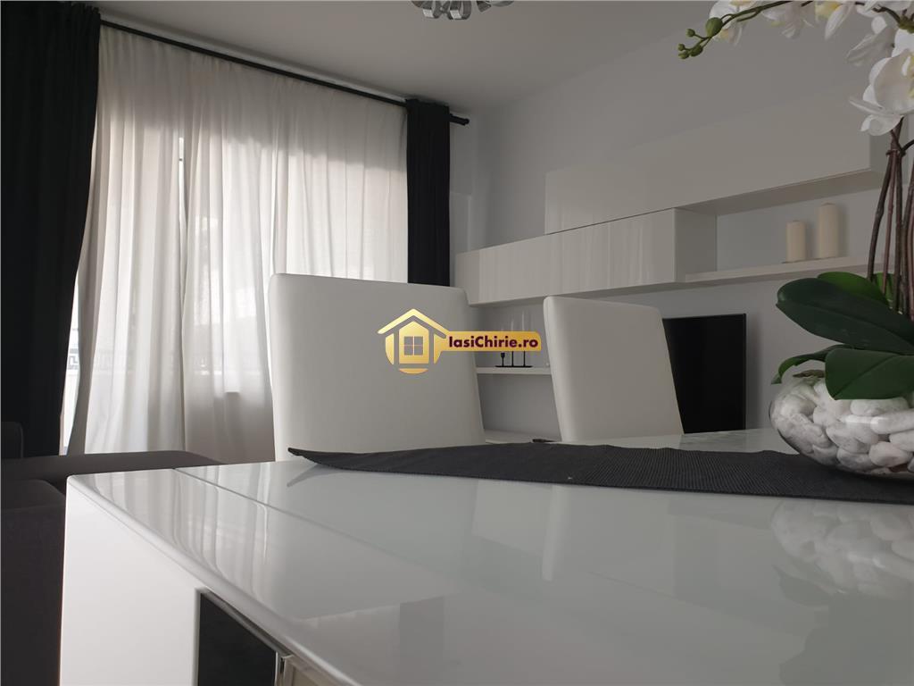 Copou Aleea Sadoveanu, prima inchiriere, apartament 2 camere, lux