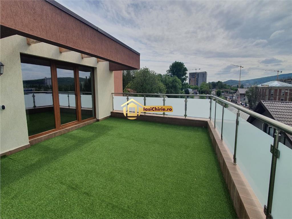 Tatarasi, bloc nou, apartament de vanzare doua camere, terasa