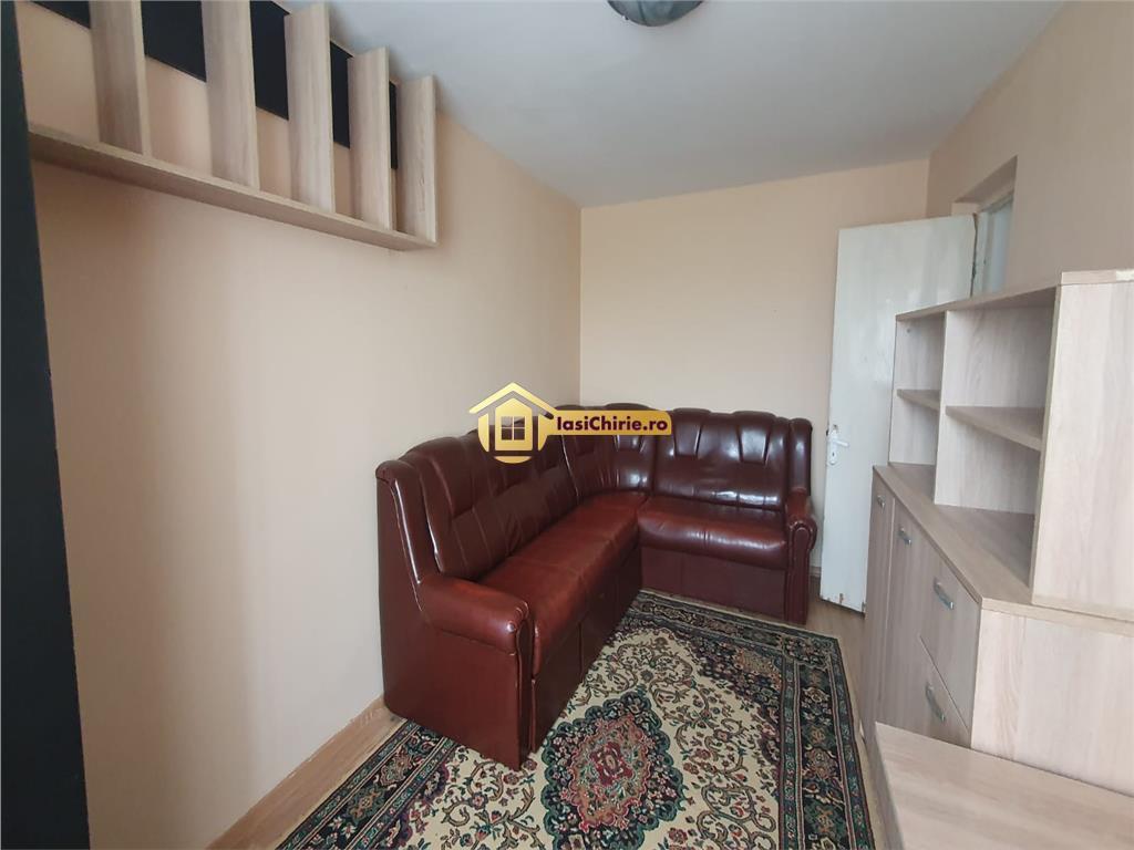 Tomesti, apartament de inchiriat cu 2 camere, decomandat