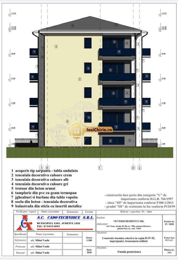 Apartament 2 camere Visani