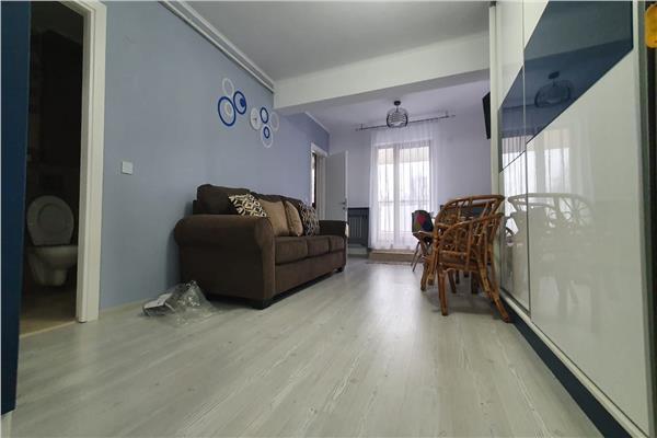 Tatarasi, apartament de vanzare o camera, terasa proprie, MOBILAT ȘI UTILAT COMPLET